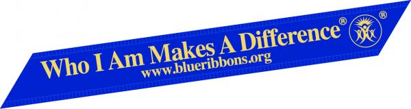 1000 Blue Ribbons